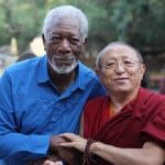 Tibetan lama meets Voice of God