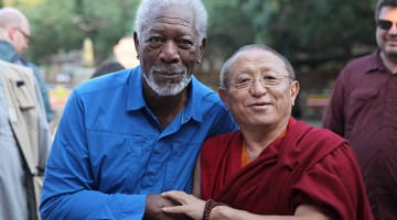 Morgan Freeman, Chokyi Nyima Rinpoche, Lion's Roar, Buddhism, News
