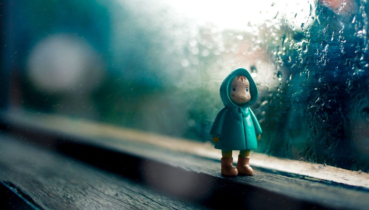 Sad doll.