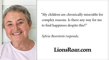 sylvia boorstein, parenting, lion's roar, buddhism, shambhala sun
