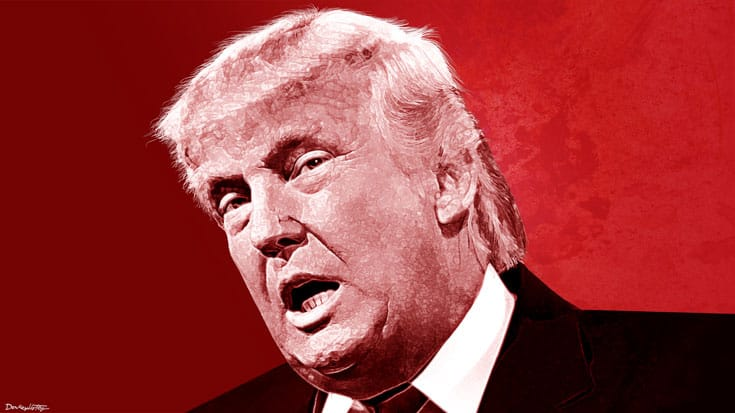 Donald Trump, Lion's Roar, Buddhism, Tea Party, Republican, Conservative, Politics