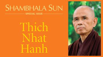 Thich Nhat Hanh, Lion's Roar, Shambhala Sun