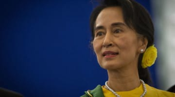 aung san suu kyi, election, lion's roar, news