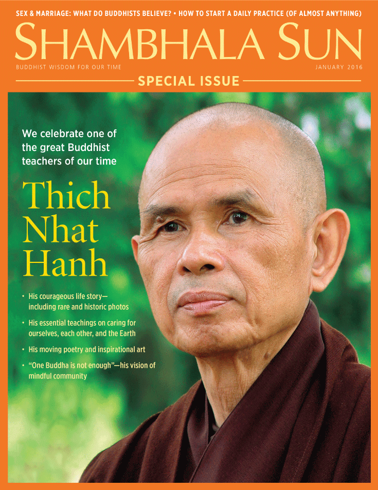 Thich Nhat Hanh, Shambhala Sun, Lion's Roar