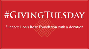 Giving Tuesday, Lion's Roar, Foundation