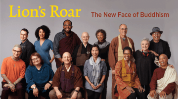 Lion's Roar, Cover, Magazine, First