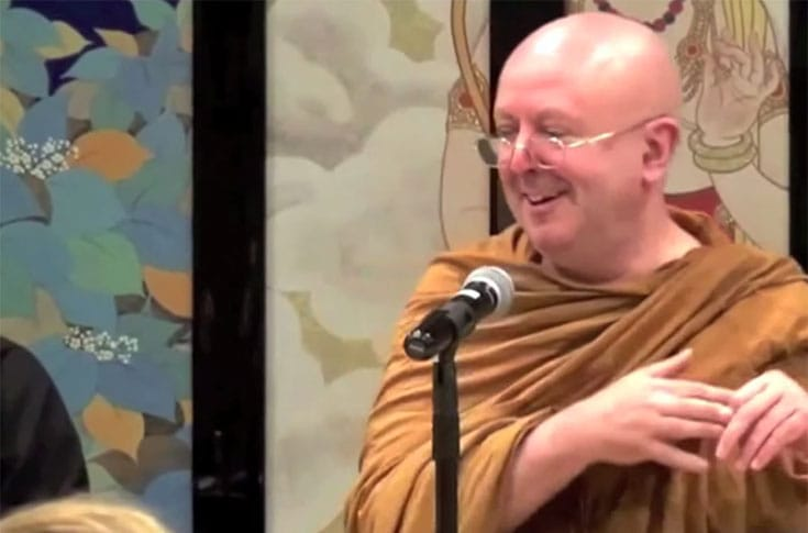 ajahn Brahm, Kindfulness, Contentment, Lion's Roar, Buddhism