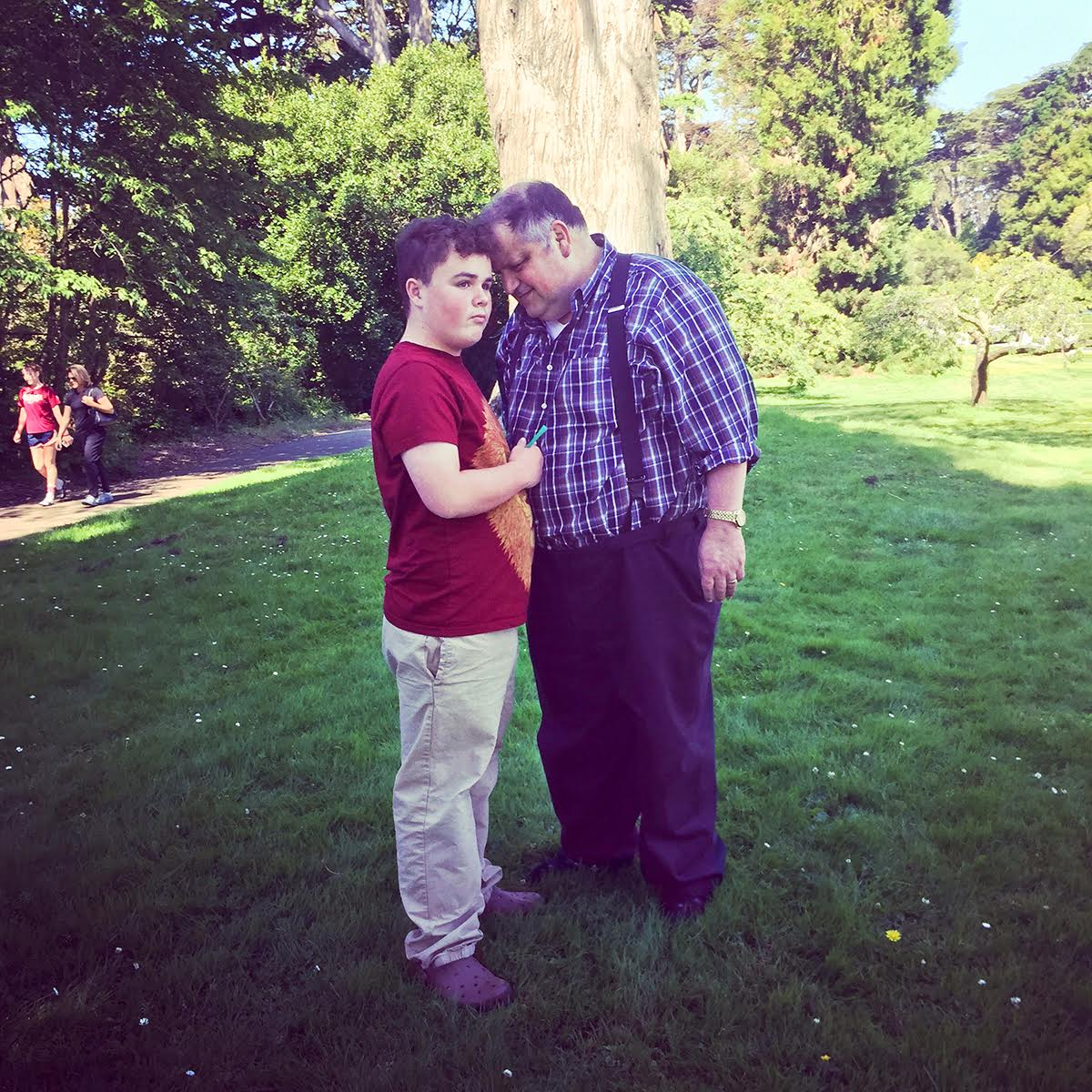 """In the inspiring chapter """"The Boy Who Loves Green Straws,"""" Silberman (left) describes the trials and triumphs of Leo Rosa (left) and his loving family."""