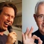 Comedian Pete Holmes hosts Buddhist teacher David Nichtern in new podcast