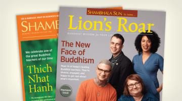 Ben Moore, Shambhala Sun, Lion's Roar, Name