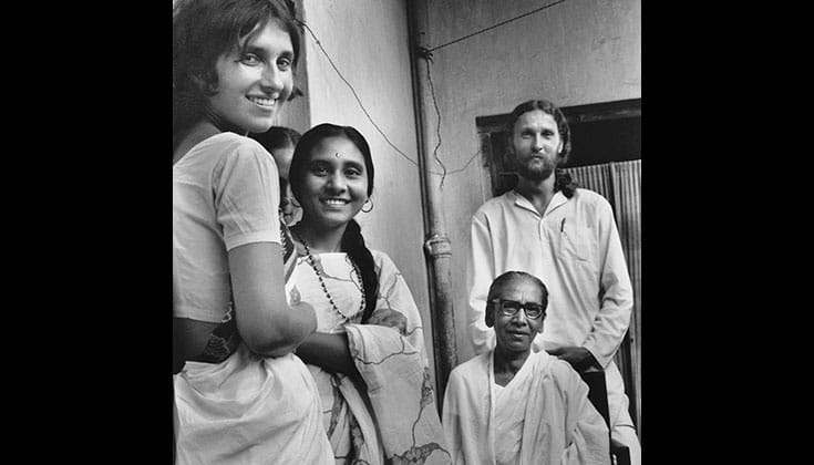 """An incredible love would come forth from her"": Sharon Salzberg (left) about her teacher Dipa Ma (seated right). Photo courtesy of Insight Meditation Society."
