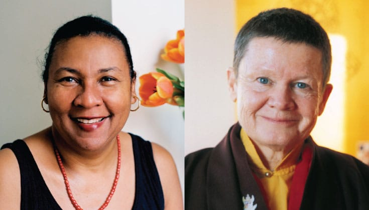 bell hooks and Pema Chodron.