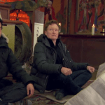 Watch Conan O'Brien visit a Buddhist temple in Korea