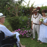 Dharma teachers Trudy Goodman and Jack Kornfield tie the knot