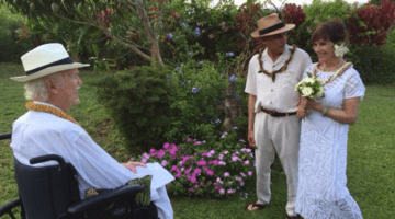 Ram Dass marries Trudy Goodman and Jack Kornfield.