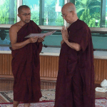 Myanmar's ex-president Thein Sein joins Buddhist monkhood