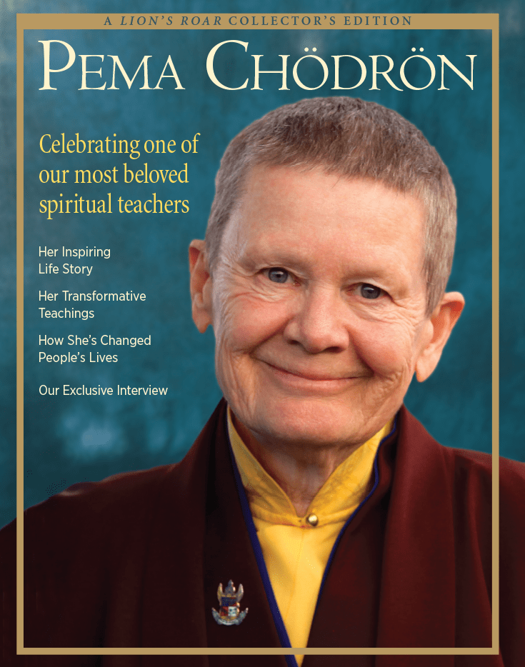Pema Chodron, A special collector's edition.