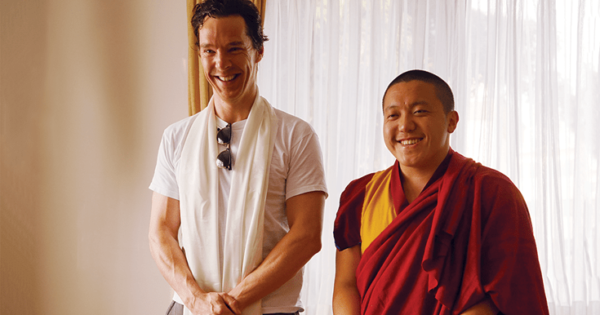 The Buddhist Life of Benedict Cumberbatch