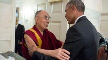 Dalai Lama Obama