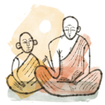 Are there differences in the roles teachers play in different Buddhist schools?