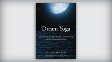 Cover of Dream Yoga by Andrew Holocek.