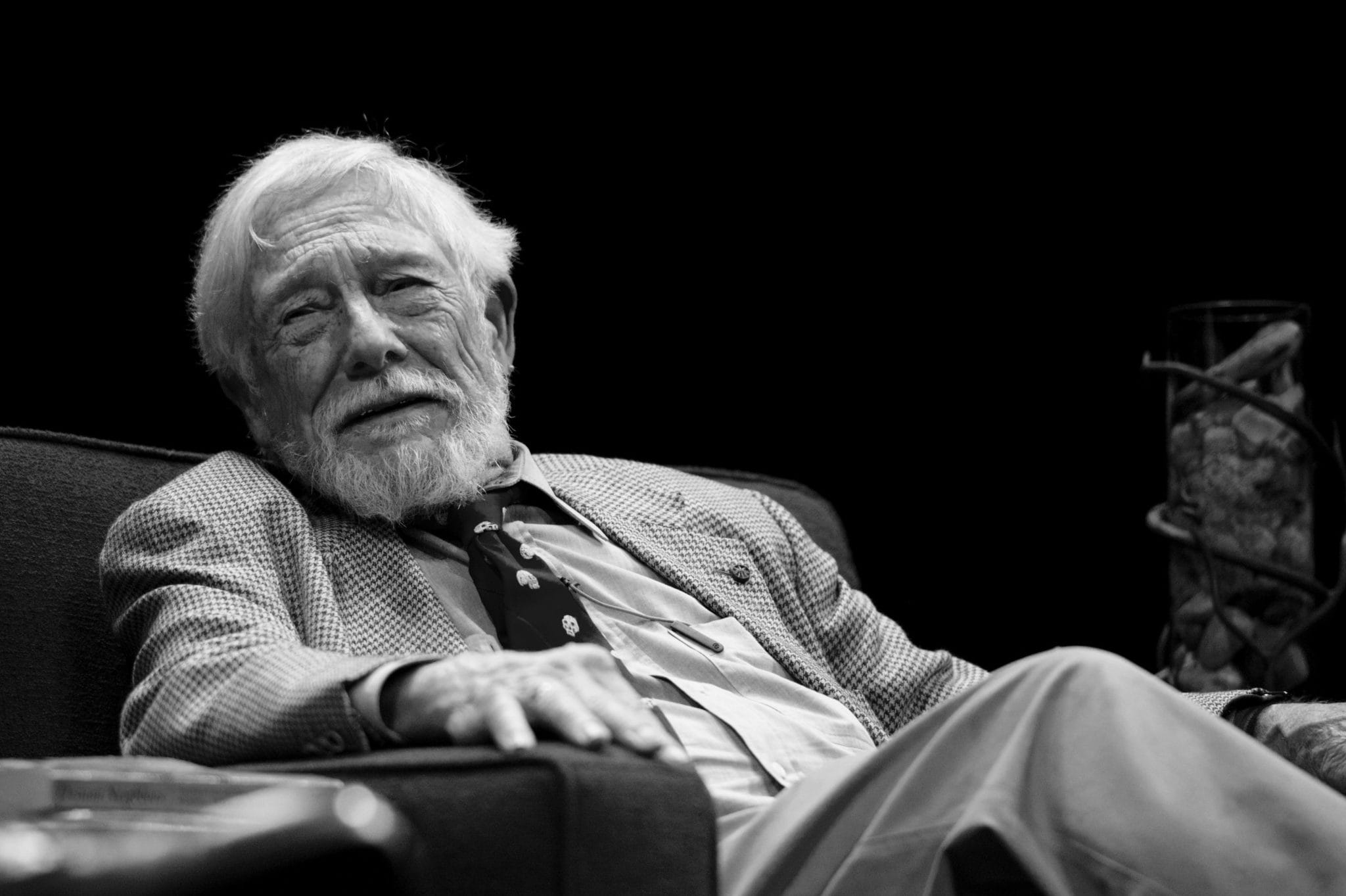 Gary Snyder. Photo by Festival of Faiths.