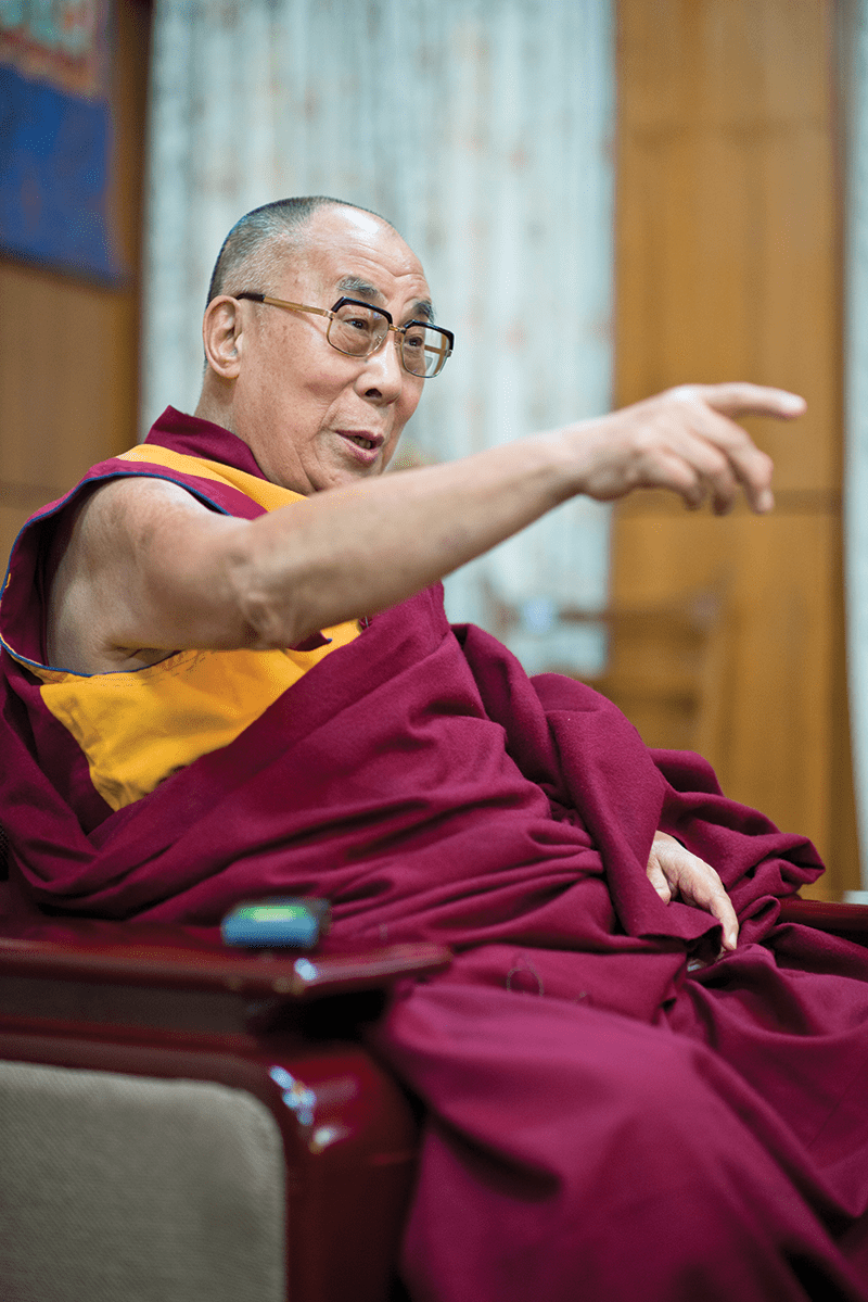 Photo by Tenzin Choejor via DalaiLama.com.