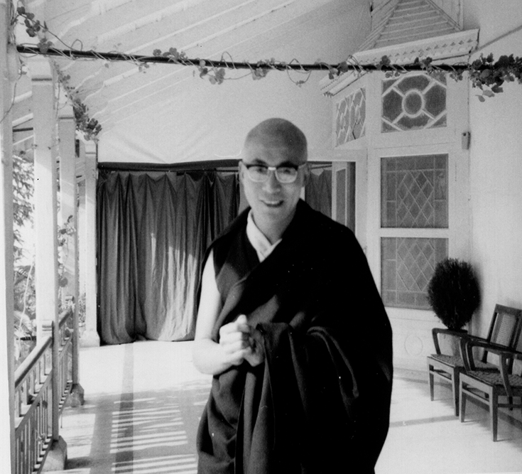 His Holiness the 14th Dalai Lama India in the 1960's. Photo by IM Photo Archive.