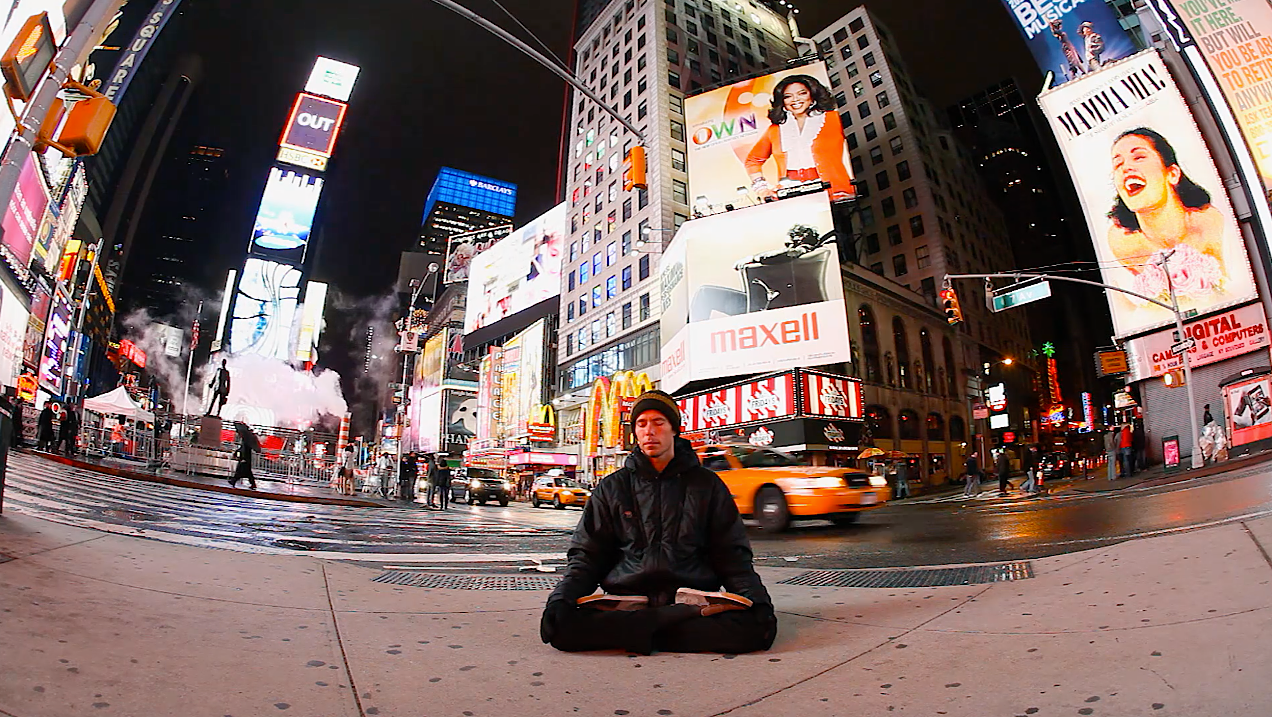 "Yogis reflects on his time living in New York City in ""Saltwater Buddha."""