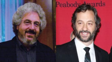 Harold Ramis and Judd Apatow