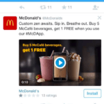 "McDonald's tried to allure with a tweet about ""custom Zen"" sugary beverages? Now, that's a whopper of a Dharma-Burger."