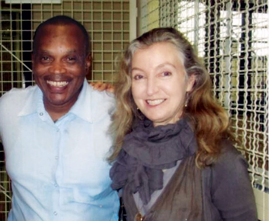 Rebecca Solnit visits prisoner Jarvis Jay Masters on death row in San Quentin.