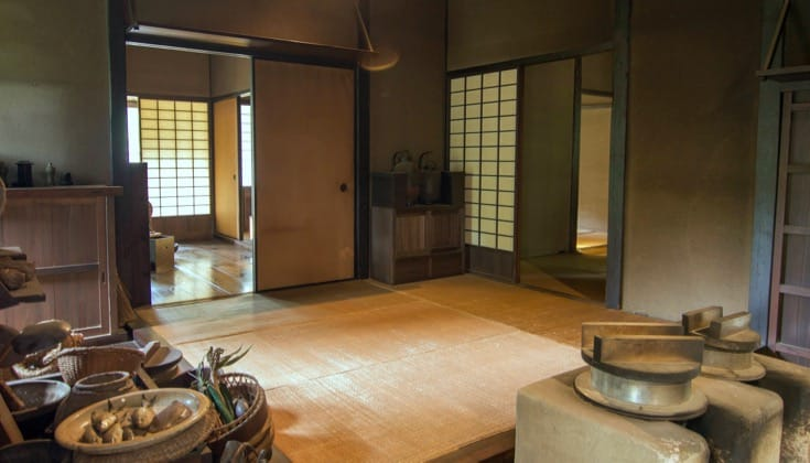 Traditional Japanese Kitchen.