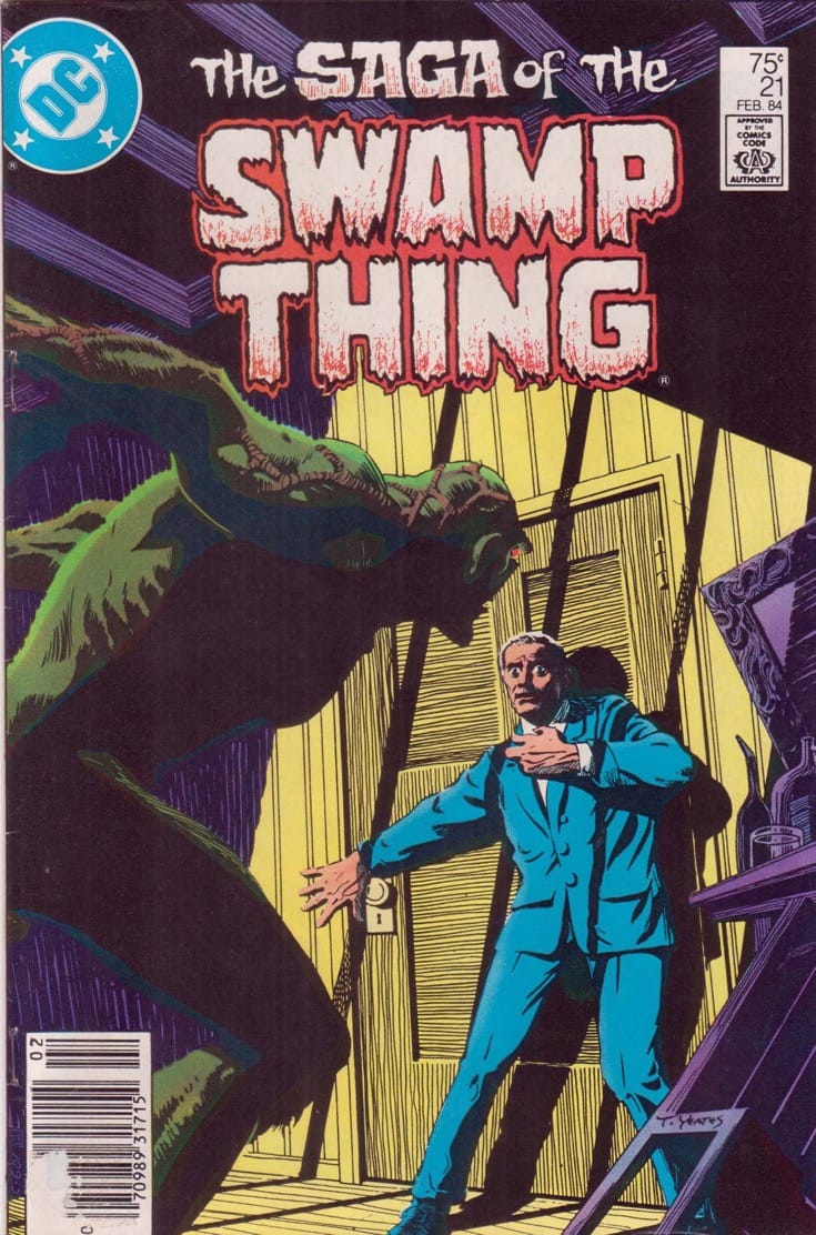 "Cover of ""Swamp Thing""."