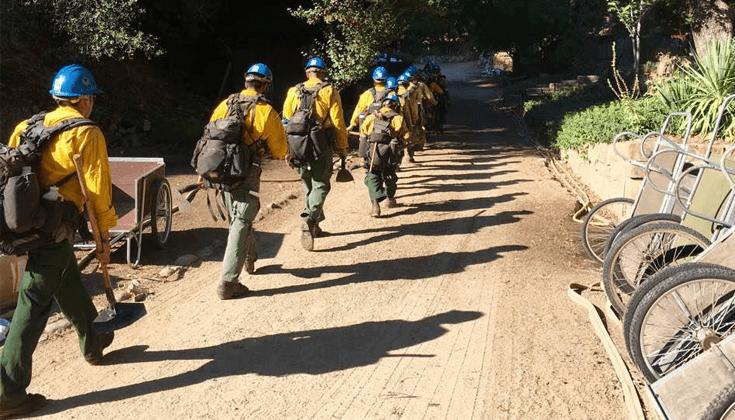 Tassajara Zen Mountain Center survives Soberanes wildfire