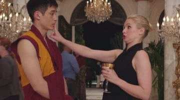 Manny Jacinto and Kristen Bell are fakin' it 'til they make it in The Good Place,