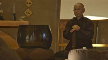 Watch behind-the-scenes footage from the new Thich Nhat Hanh documentary