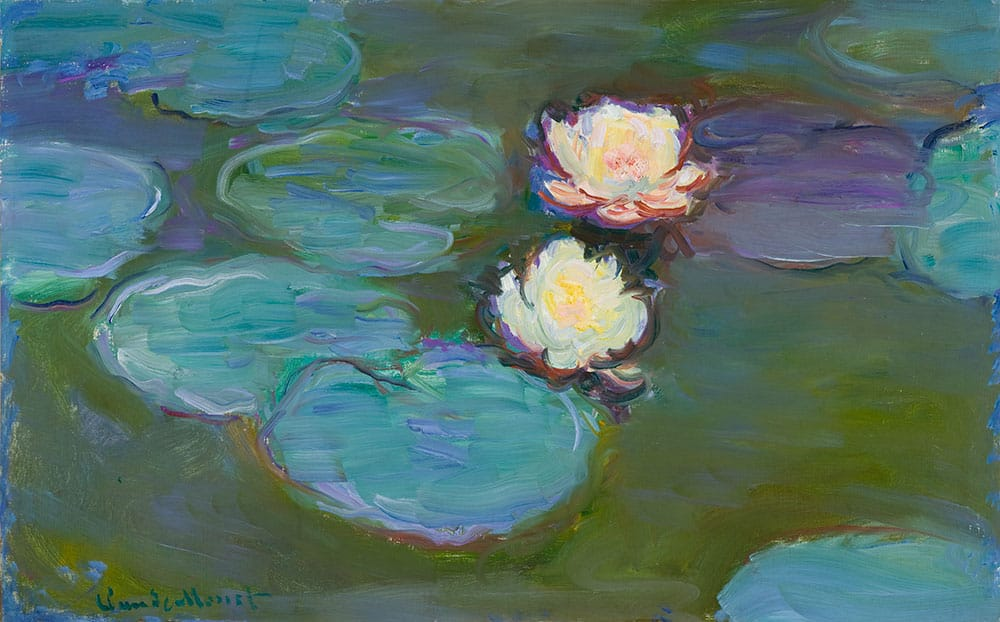 Claude Monet, Nympheas, 1897-1898. Oil on canvas. Courtesy the Los Angeles County Museum of Art.