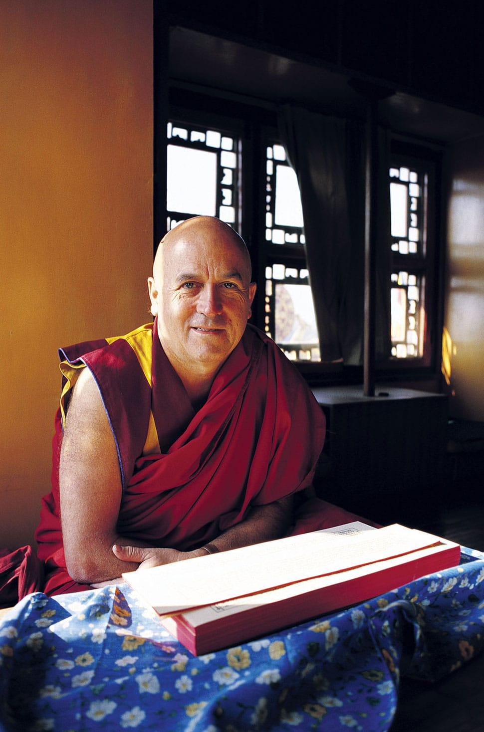 Matthieu Ricard. Photo by Jill Goucher.