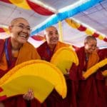 "Hope and joy in photos of the first nuns to earn ""doctorates"" of Tibetan Buddhism"