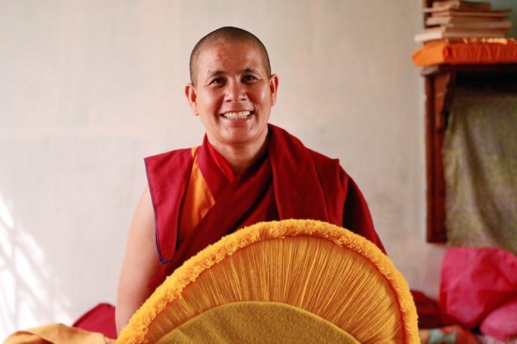 Tenzin Zangmo, Jamyang Choeling nunnery (from Kinnaur)