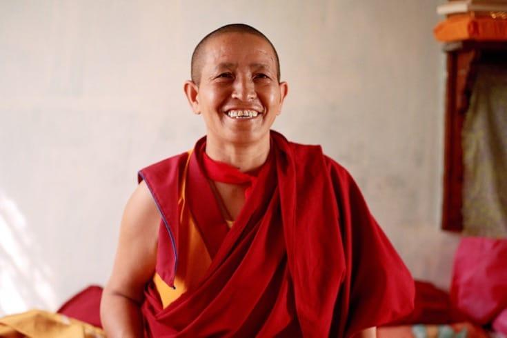 Tenzin Deden, Jamyang Choeling nunnery (from Kinnaur)