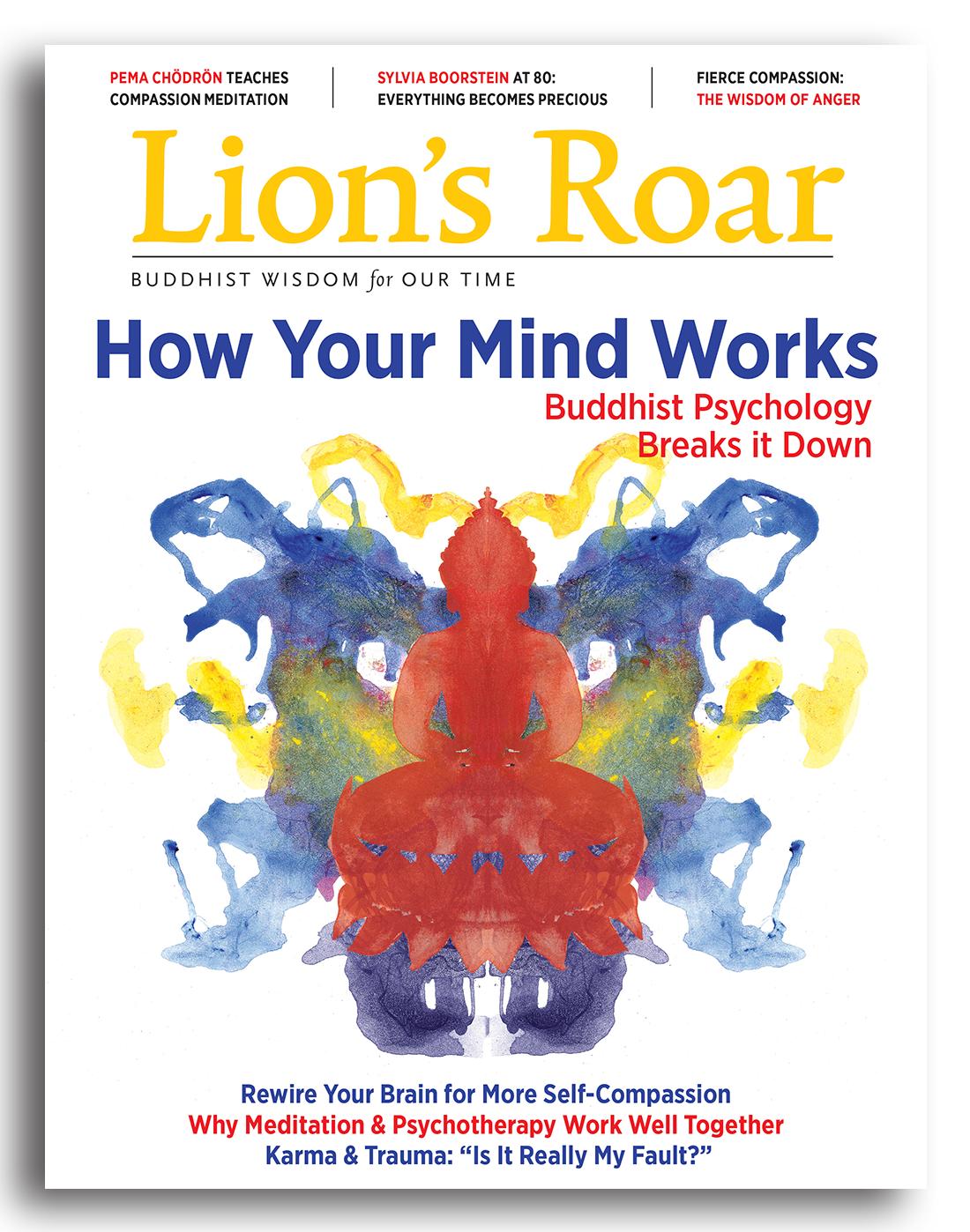 Inside The March 2017 Lion S Roar Magazine Lion S Roar