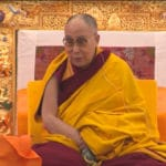 "Dalai Lama, at Kalachakra event, says ""I think I can say I'll live to be 100"""