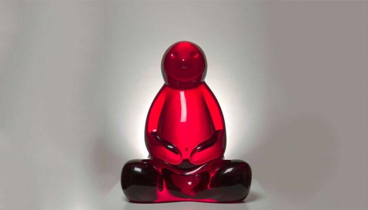 """""""Buddha,"""" 2006 by Mauro Perucchetti."""