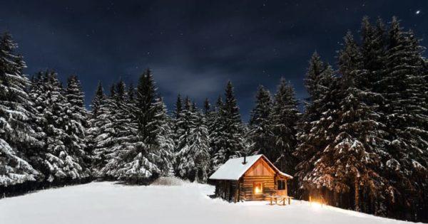 Retreat cabin.