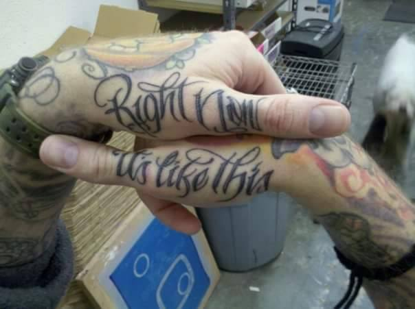 "Just as Ferraro notes that several people have chosen to get ""Right Now, It's Like This"" tattoos, Gary Sanders -- a teacher at Portland Insight Meditation Center -- has shared with Lion's Roar a photo of his own."