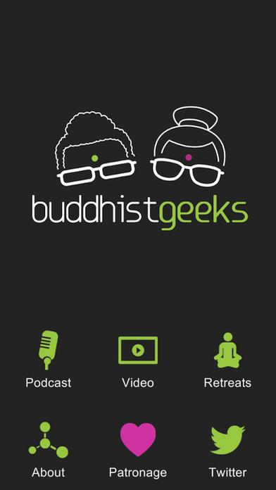 buddhist geeks app screenshot