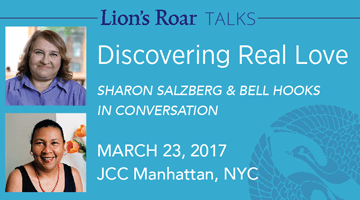 Lion' Roar Talks with Sharon Salzberg and bell hooks