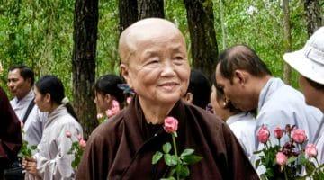 Sister Chan Khong.